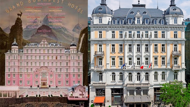 Grand Hotel Budapest e Hotel Corinthia