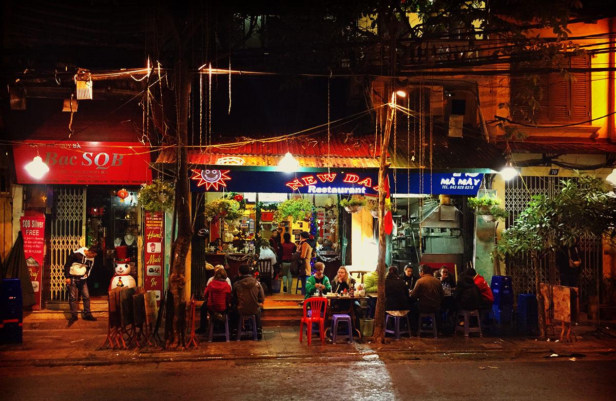 hanoi old quarter new day
