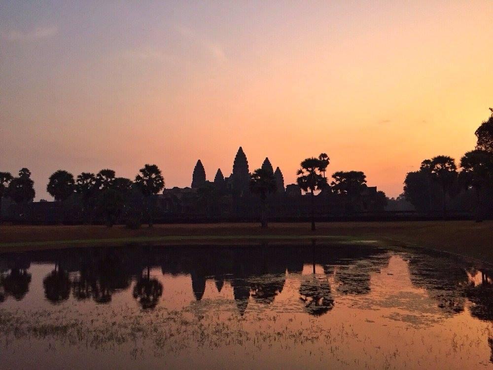 Angkor Wat dalla prospettiva migliore