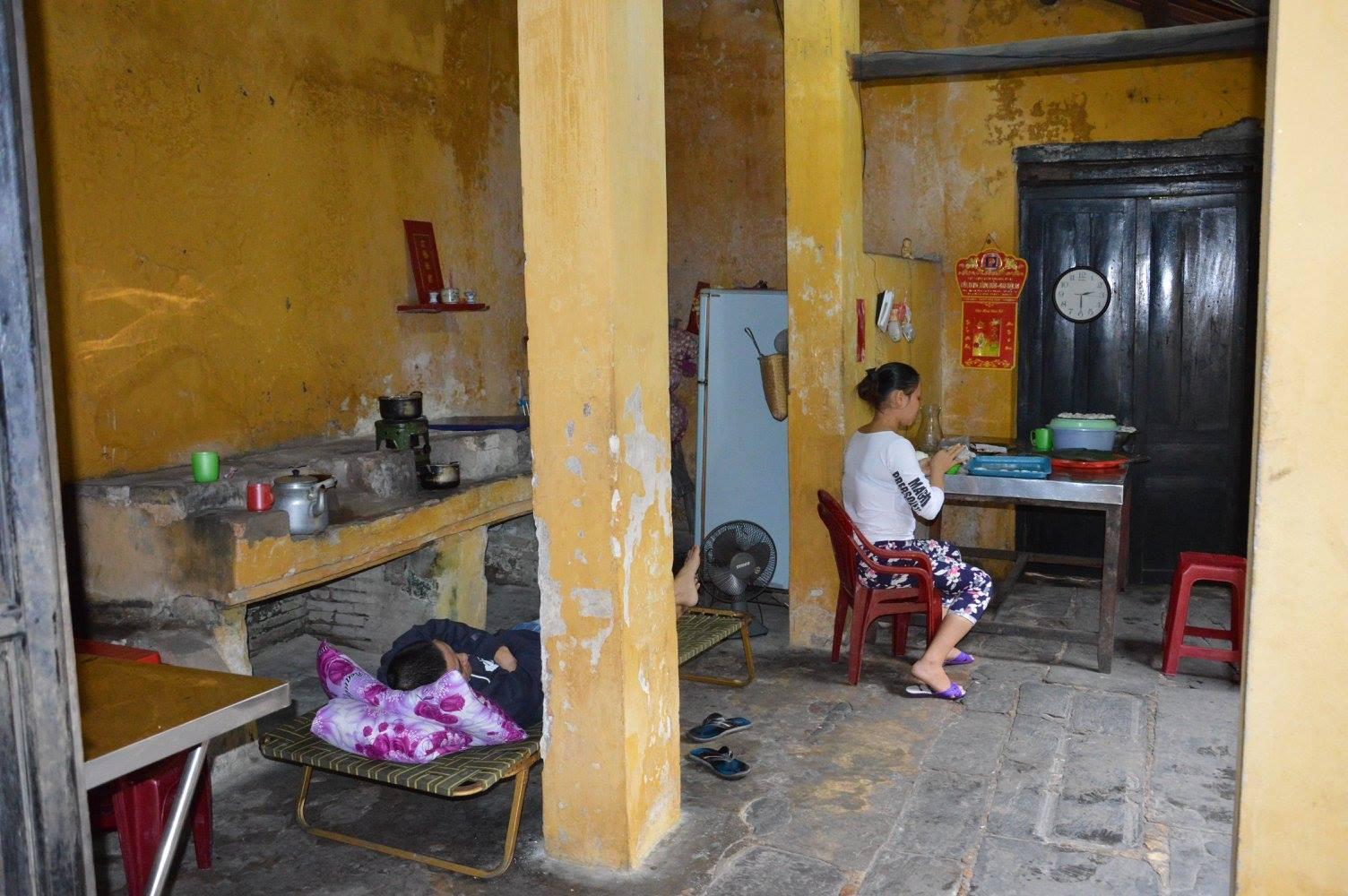 Casa privata di una famiglia vietnamita