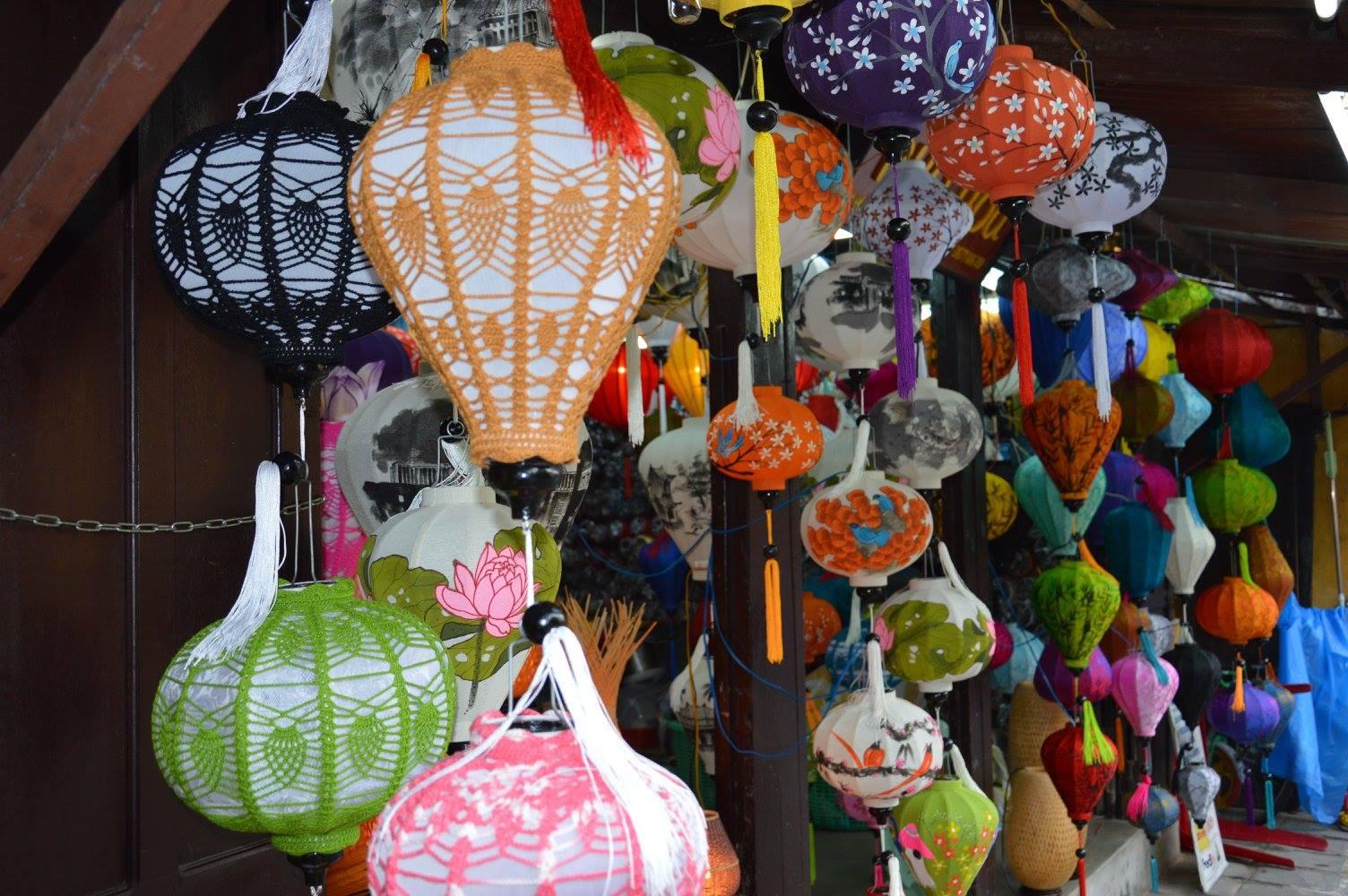 Bottega di lanterne fatte a mano