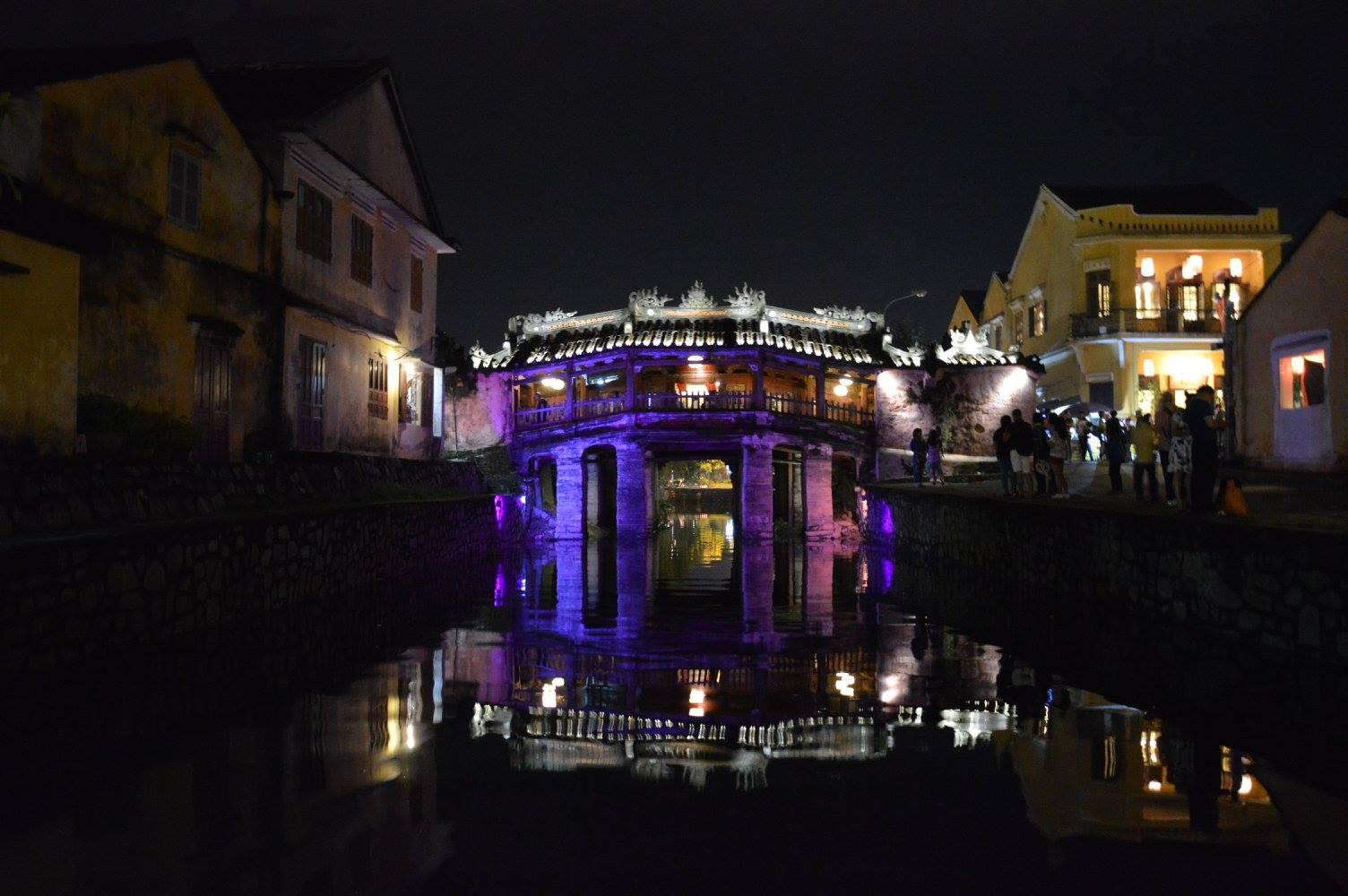 Ponte cinese d'ingresso città antica
