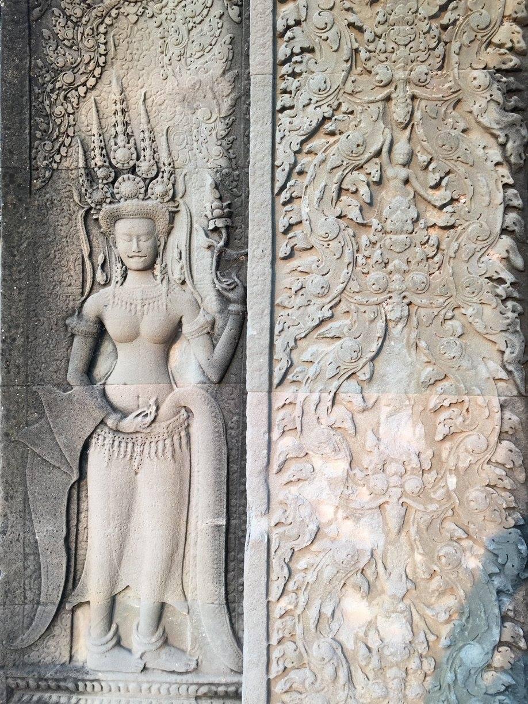 Dettaglio Angkor Wat